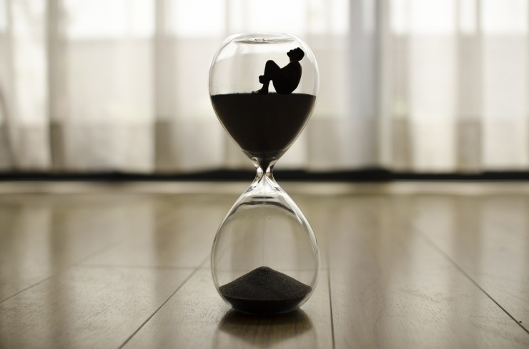 time-man trapped