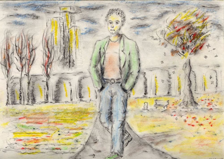 Man Walking - Poem